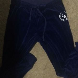 Pants - Soft velour joggers